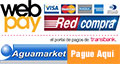 Paga en Aguamarket por WebPay