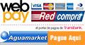 Paga en Aguamarket por WebPay