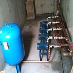 Instalacion de equipos de bombeo de agua