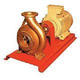 Bomba centrifuga horizontal unicelular