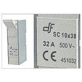 Base Modular Fijacion Tornillo 10x38sc