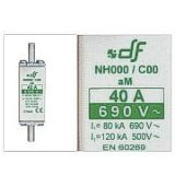 FUSIBLES NH000 C00 NH00 aM CON INDICADOR