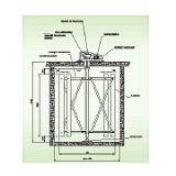 Floculador Mecanico Vertical com Paletas