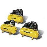 Compresor Industrial de Piston Libre de Aceite con Tanque