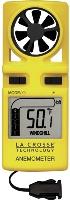 Anemometro digital con termometro
