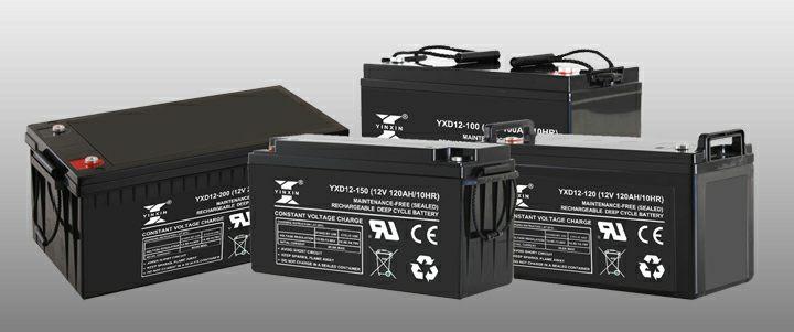 12V 200AH Bateria ciclo profundo para turbina sistema Eolico