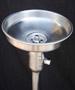 bebederos de agua acero inoxidable, base esmaltada