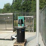 Equipo y media para filtracion quimica del aire