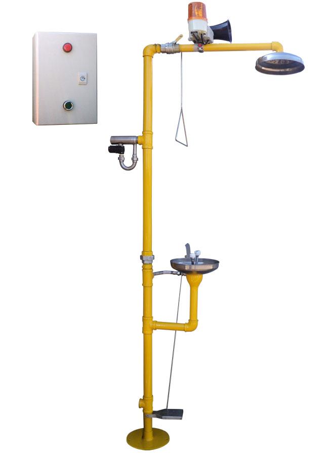 Sistema de alarma para Ducha de emergencia