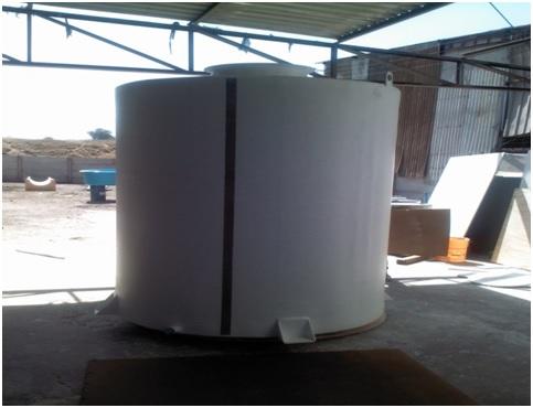 Estanque cilindrico vertical para almacenamiento de agua for Estanques para almacenar agua potable