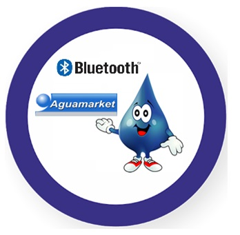 Aguamarket : Tecnologia Bluetooth