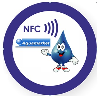 Aguamarket : Tecnologia NFC