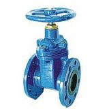 Resilient seated gate valve double socket  ends