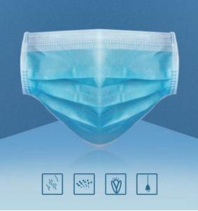 Mascaras Medicas desechables