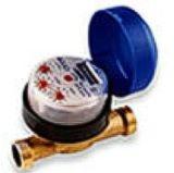 Medidor de agua magnetico a chorro unico