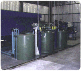 Planta de Tratamiento de Riles  PTR  en Lavado de Redes