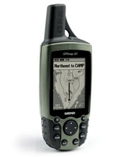 Professional GPS equipment easy and intuitive