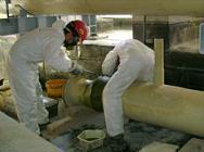 Reduccion superficie exterior de gran resistencia quimica a los agentes corrosivos externos