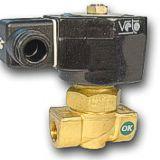 Valvula solenoide vapor agua aceite caliente hasta 180 C  BSP 1 4