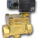 Valvula solenoide  vapor agua aceite caliente BSP 1
