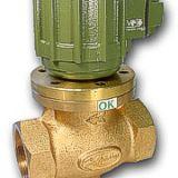 Valvula solenoide  vapor-agua/aceite caliente hasta 180 C