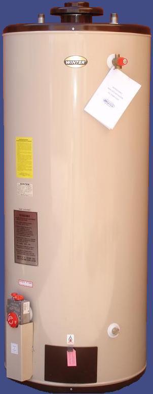 Termo 400 Litros Gas dimensiones de 225 cm