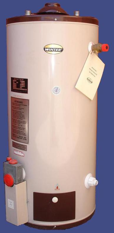 Termo 300 Litros Gas Natural Pie Alta Recuperacion