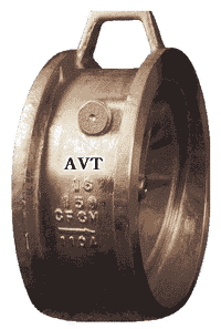 valve check flanged type