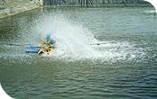 Aireador Flotante Horizontal Potencia 2 Hp  Trifasico  Acero Inoxidable