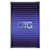 Colector Solar Plano innovador circuito hidraulico en doble serpentin