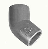 FITTINGS Codo 45 de PVC