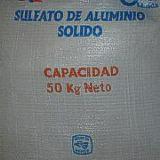 Sulfato de Aluminio 25 kilos