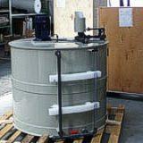 estacion de preparacion de polimero
