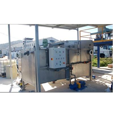 Flotacion por Aire Disuelto  DAF  para tratamiento Aguas residuales