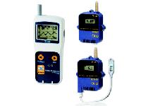 Anemometro digital con termometro y reloj