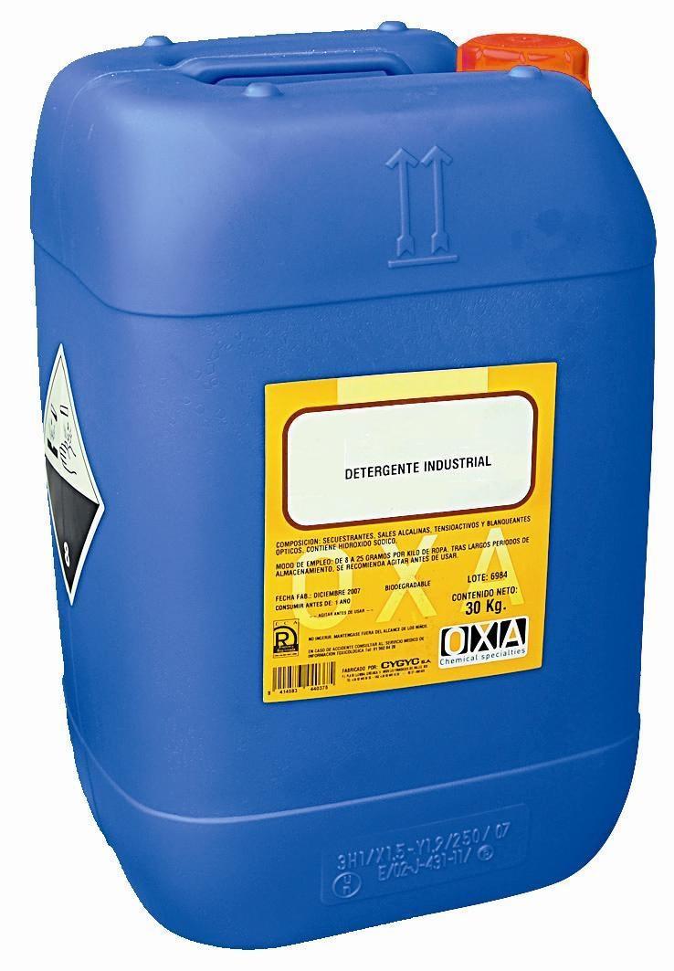 Detergente para el lavado de Contenedores de Basura