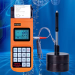 Portable hardness tester memory can store 100 groups