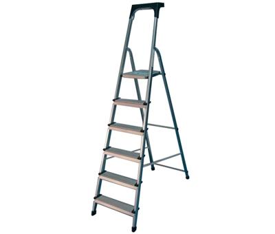 escalera metalica aluminio