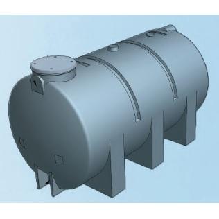 Estanques horizontales aguamarket for Estanque de agua 4000 litros