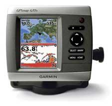 Navegador GPS maritimo