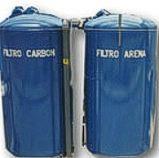 Filtro carbon activado para aguas residuales