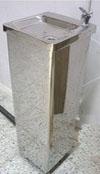 Fuente para agua pedestal