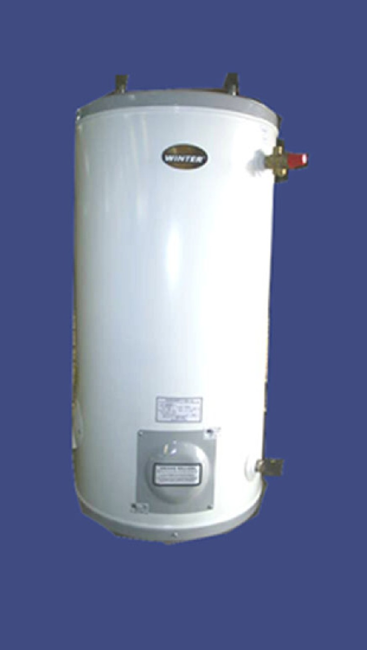Termo electrico 120 litros inox fijado a muro aguamarket - Termo de agua electrico ...
