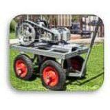 Motor con ruedas para lavado