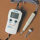 Medidor de pH y temperatura portatil para productos carneos