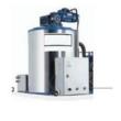 Maquina de Hielo en Escamas 1000/DIA