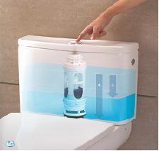 Ahorro de agua mecanismo de doble descarga