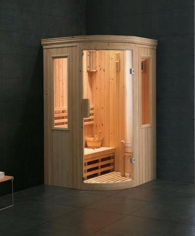 Sauna Estructura de madera