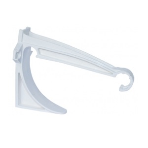 Soporte Invisible Canaleta 125mm Aquapluv