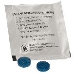 Leak Detection Dye Tablets